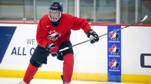 quinton-byfield-skates-at-team-canada-practice