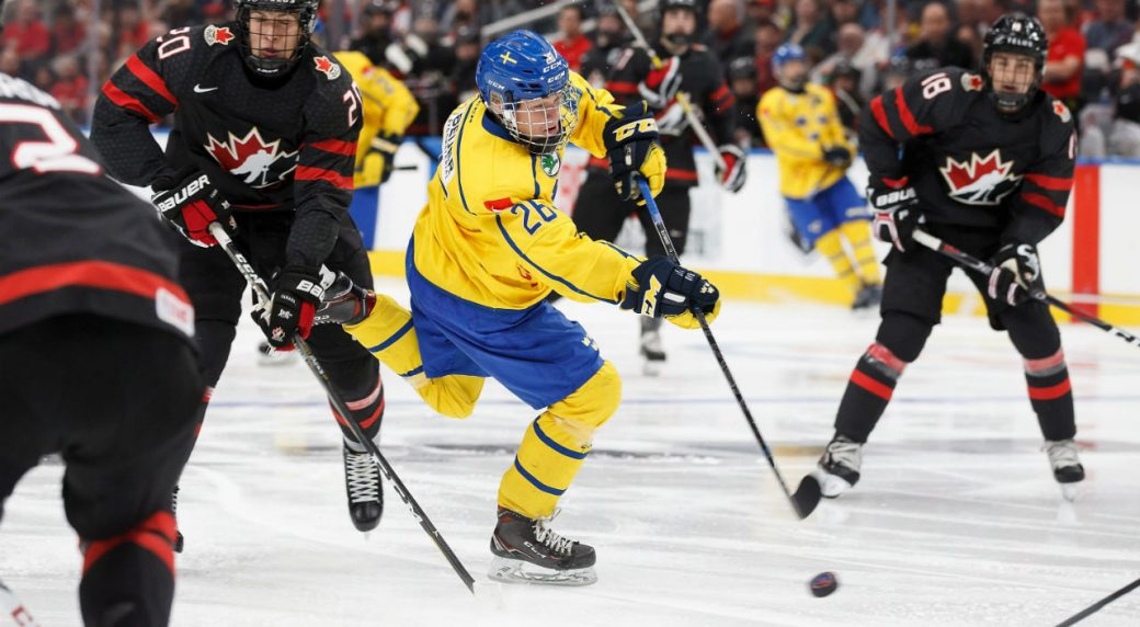 Sweden hopes draft eligible Lucas Raymond can help WJC offence ...