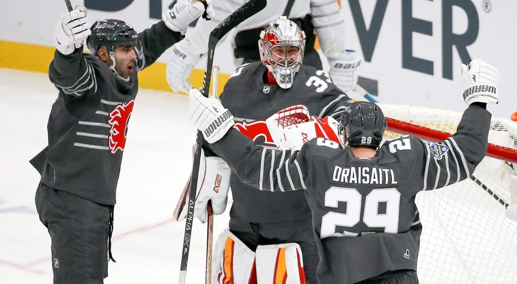 Oilers Ready To Resume Hostilities With Flames After Chummy All Star Break Sportsnet Ca