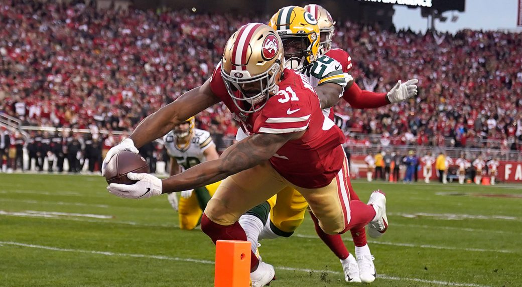 49ers-raheem-mostert-scores-touchdown-against-packers
