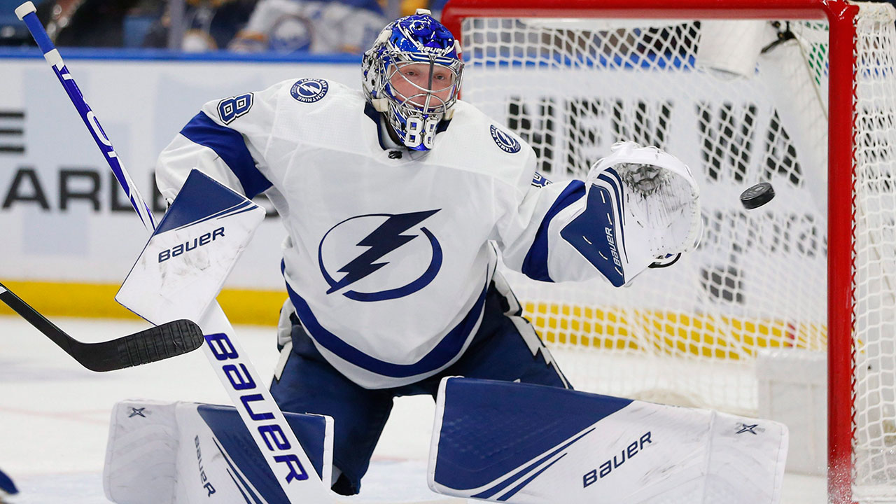Vasilevskiy has a light night and Tampa takes the lead after Game 3