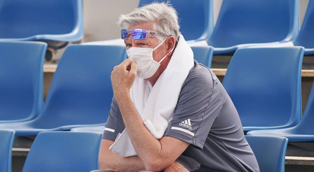 Coughing fit sees player quit Australian Open qualifying