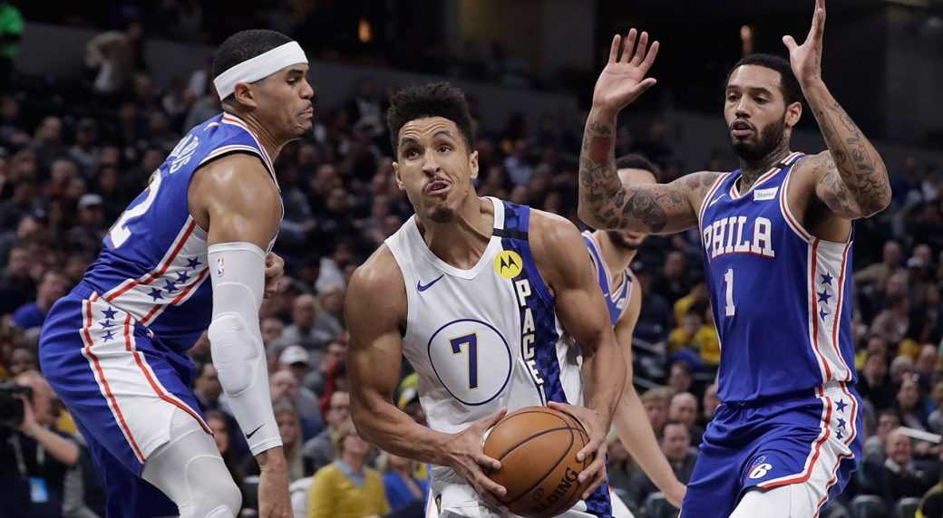 Brogdon, Warren lead way to Pacers' 101-95 victory over Sixers