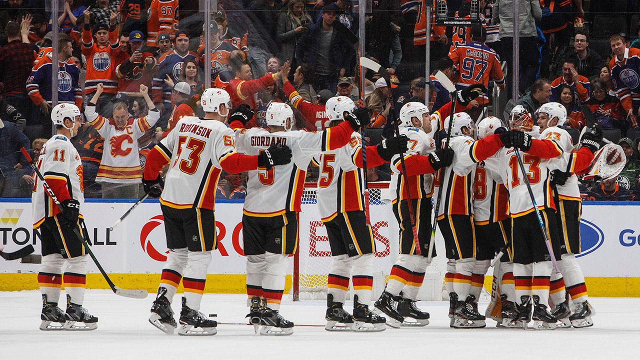 Sean Monahan Scores Shootout Winner As Flames Edge Oilers Sportsnet Ca
