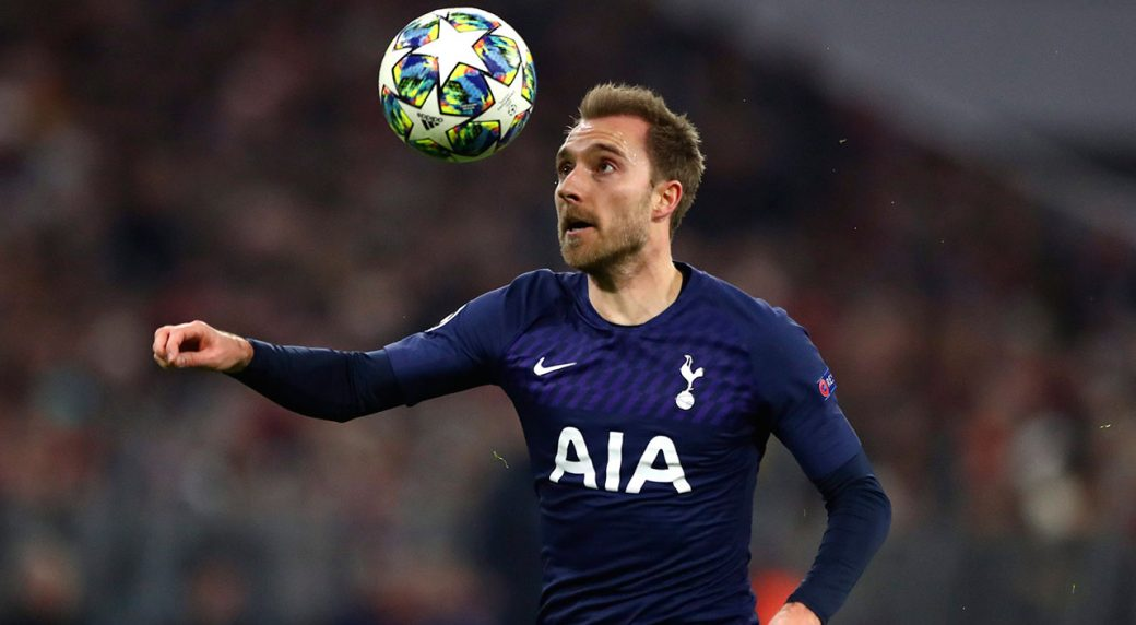 Inter Milan Sign Christian Eriksen From Tottenham Hotspur