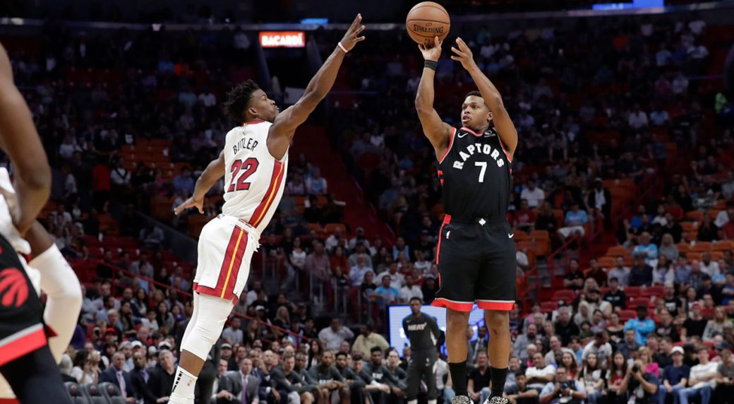 Raptors Can't Take the Heat and Pistons Fall to LA