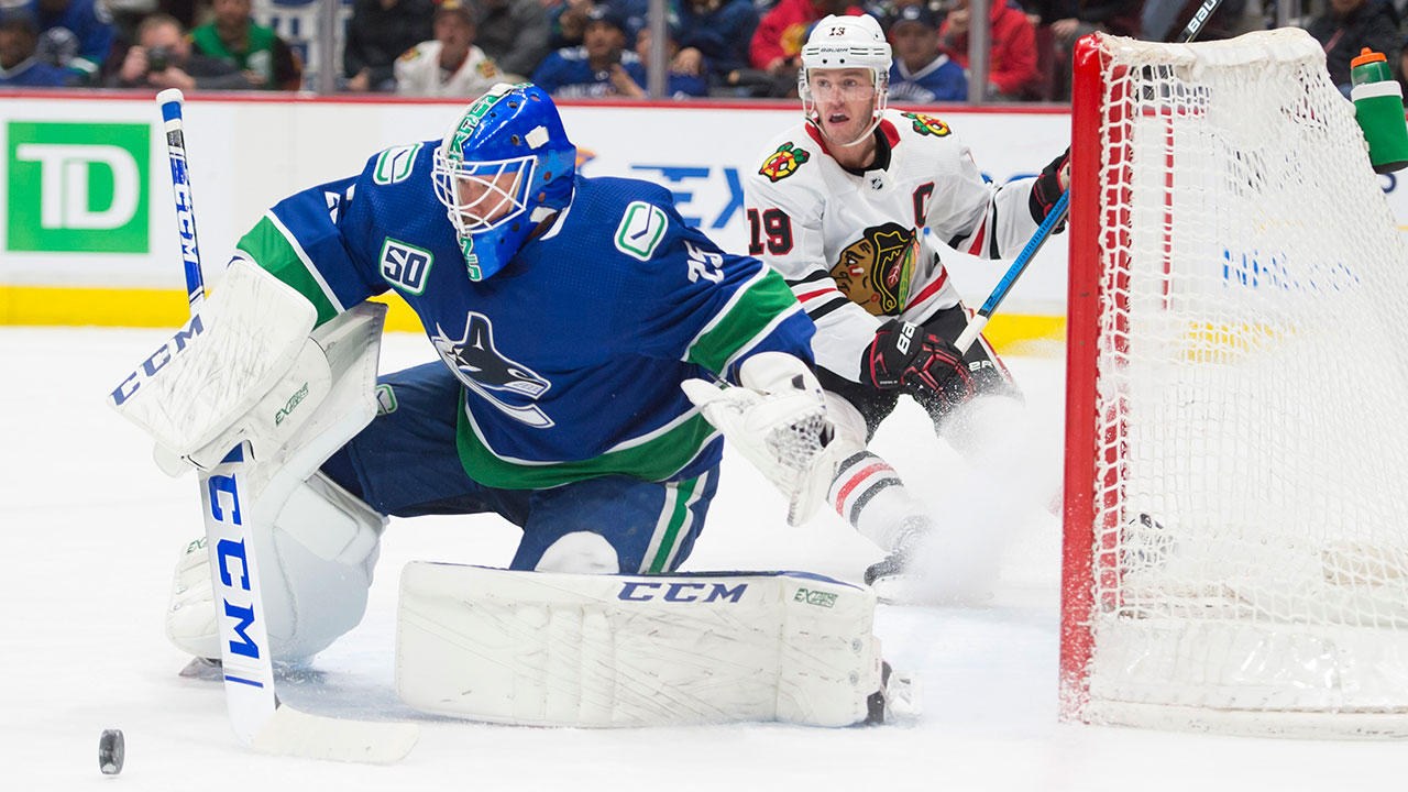 Canucks' should have further info on Markstrom's status tomorrow. Injury is terrible timing for Vezina cadidate and the Canucks