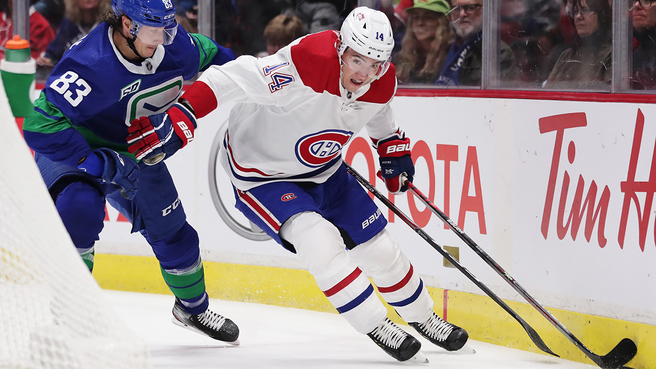 Canadiens Nick Suzuki I Definitely Have High Expectations For Myself Sportsnet Ca