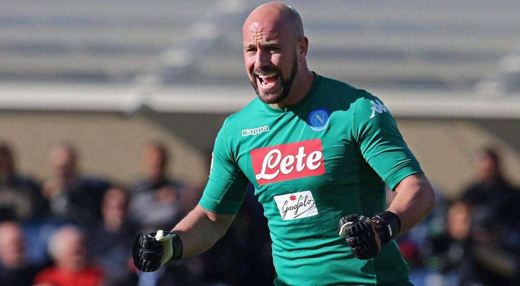 Reina returns to the Premier League in Villa loan deal