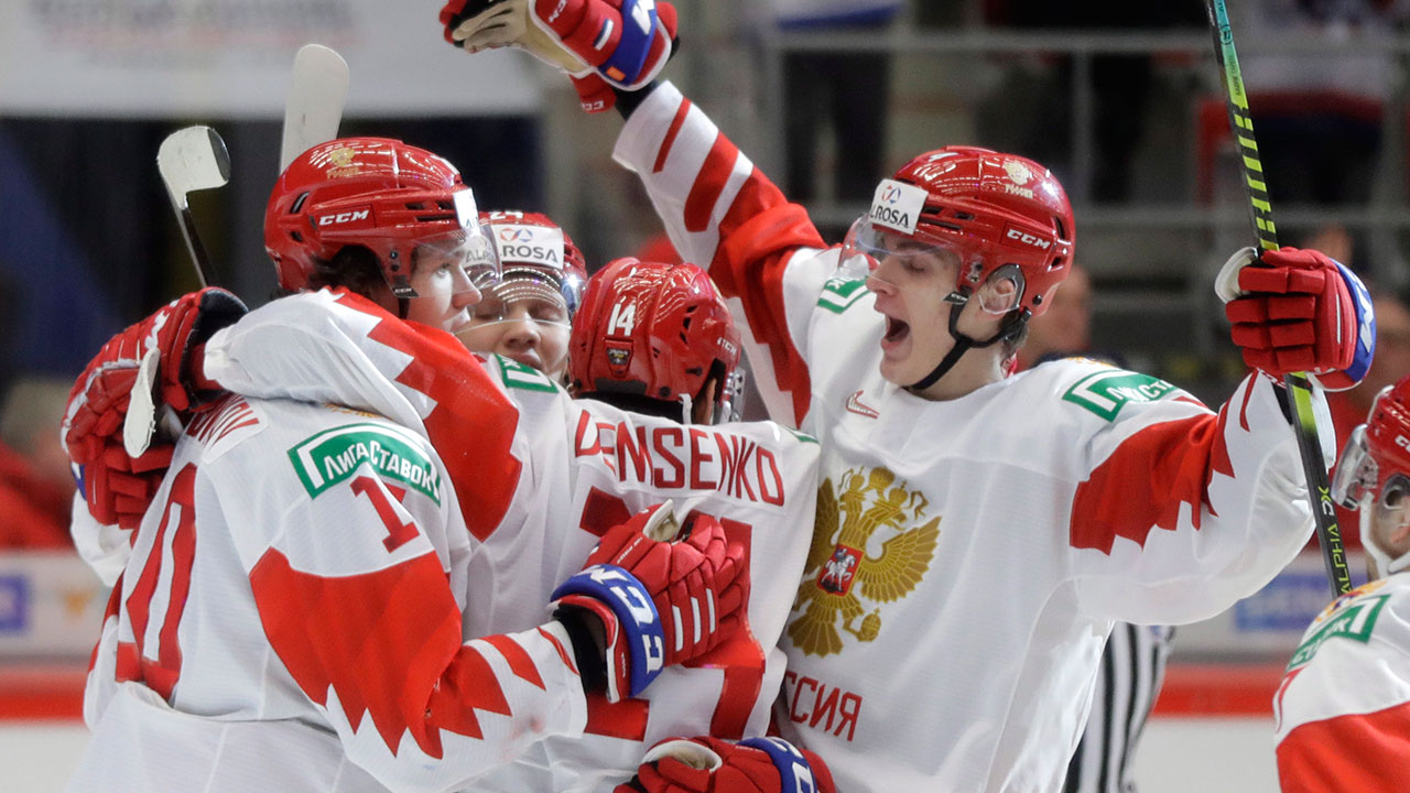 Russia powers their way to victory over Switzerland