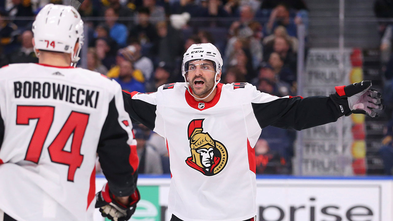 Senators snap seven-game road skid with win over Sabres