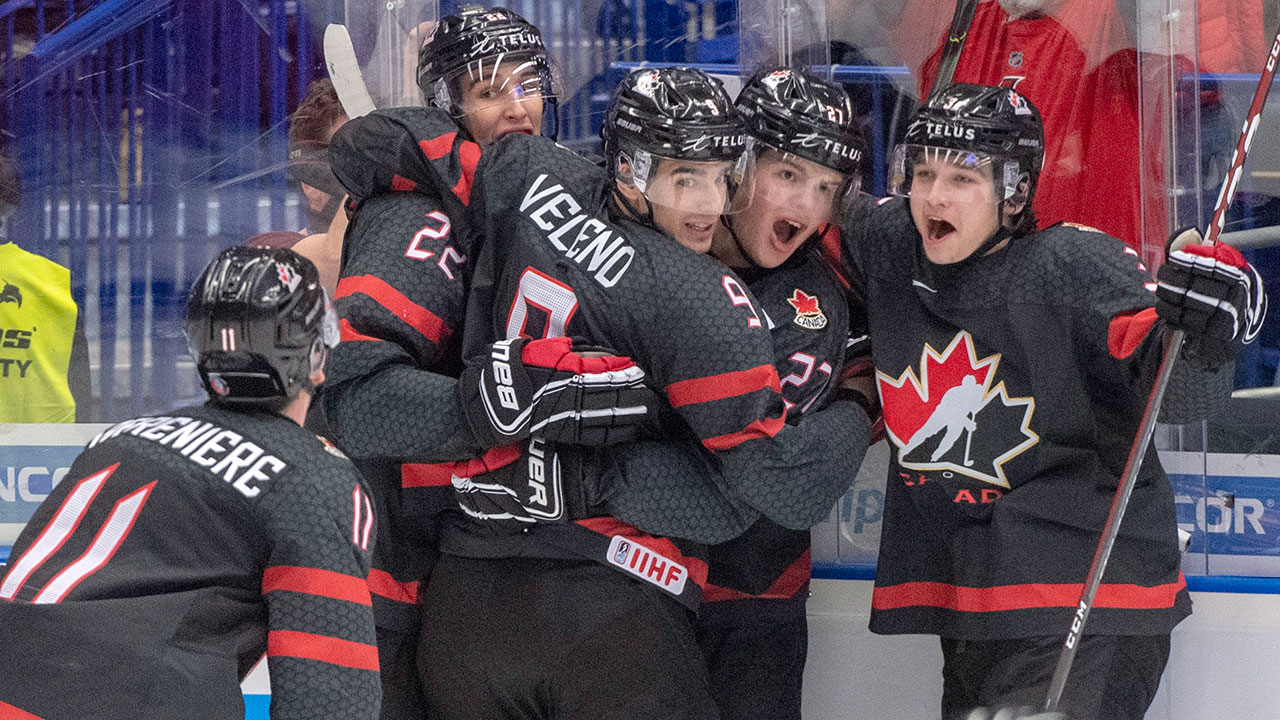 A Golden day for Canada at the World Juniors