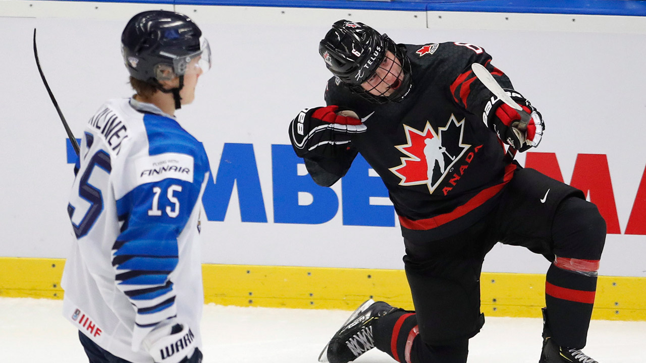 Canada Routs Finland To Advance To Final At World Juniors Sportsnet Ca