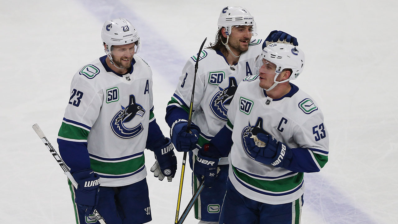2 for 2. The Canucks' pull-off two bounce back wins after two big losses