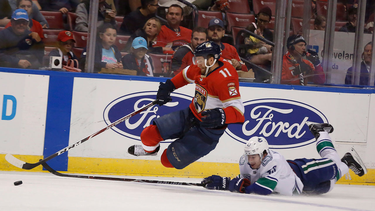 The Canucks were looking for a bounce-back game, but just ended up getting bounced