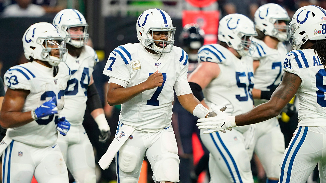 colts-jacoby-brissett-celebrates-with-teammates