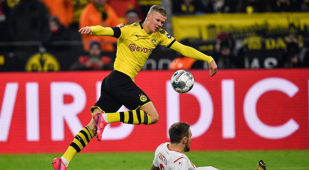 Haaland Scores Two More As Dortmund Beats Cologne Sportsnet Ca