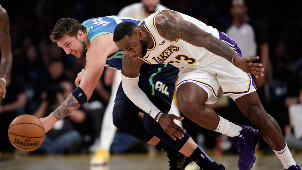 Nba Live Tracker Lakers Vs Mavericks Allclassicnews