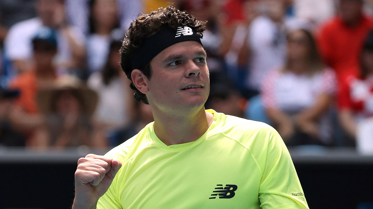 Canada's Milos Raonic moves on to Australian Open quarterfinals