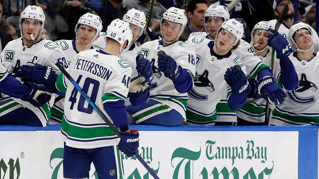 'Nucks get back to work instead of having some fun in the sun after blowout loss vs Tampa