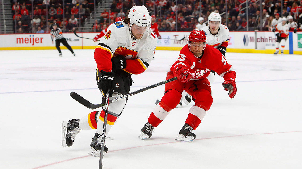Andy MacNeil: Best bets for Flames-Red Wings and NHL props