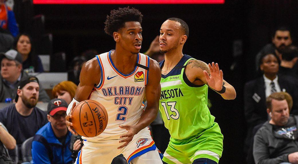 Balanced scoring attack leads Oklahoma City past Timberwolves