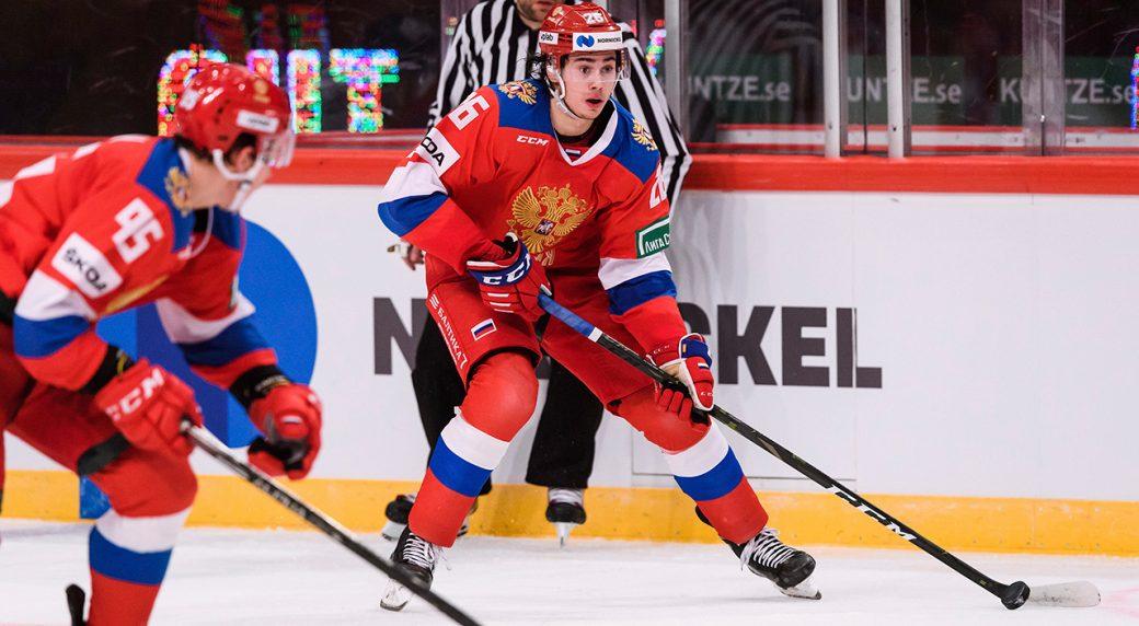 Canadiens sign defenceman Alexander Romanov to entry-level contract