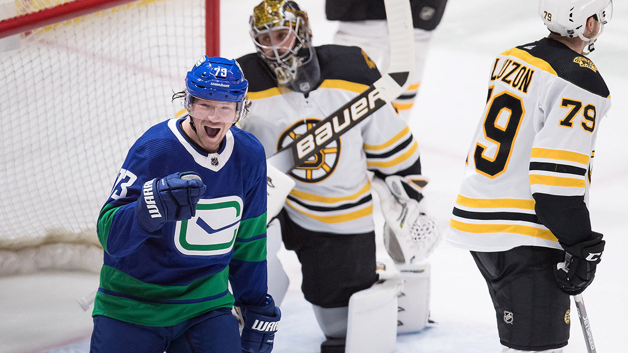 Canucks get some payback for shutout loss in Boston