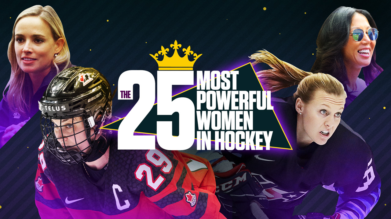 The 25 Most Powerful Women in Hockey