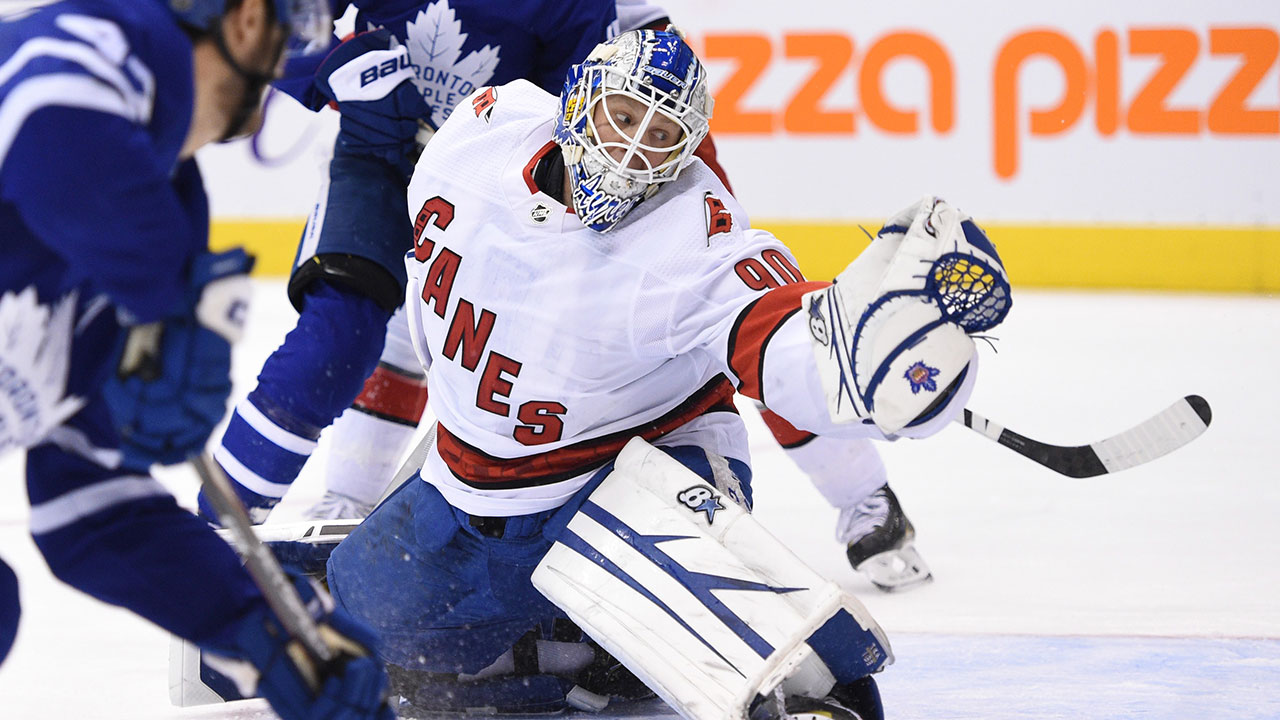 By The Numbers David Ayres Makes History With Nhl Debut At Age 42 Sportsnet Ca