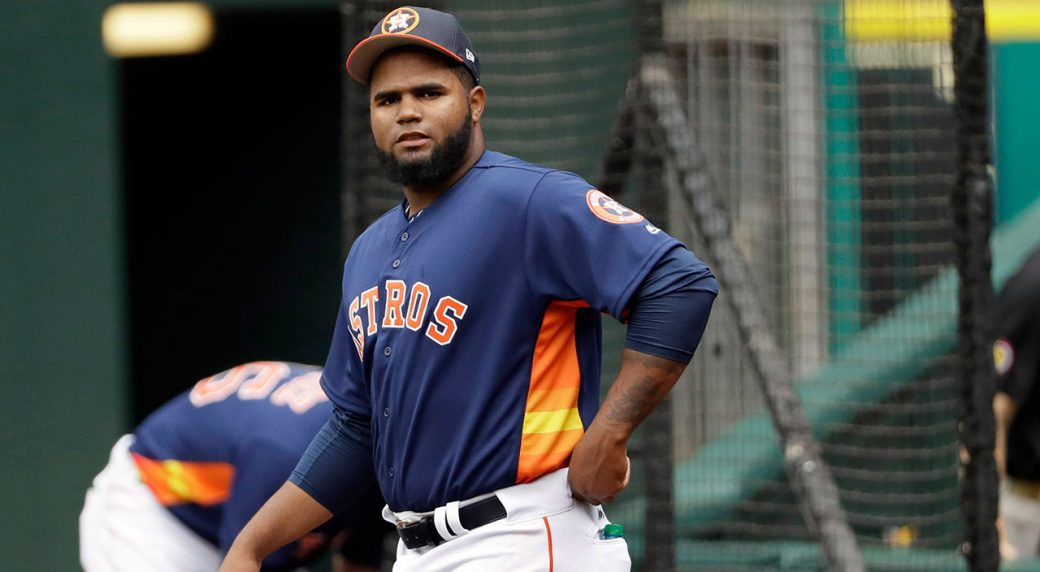 Astros' Francis Martes suspended for season for 2nd positive PED test