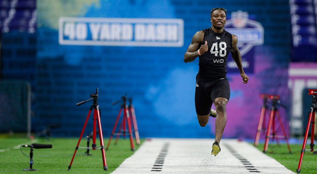 Henry Ruggs breaks combine record with vertical, 40 combination