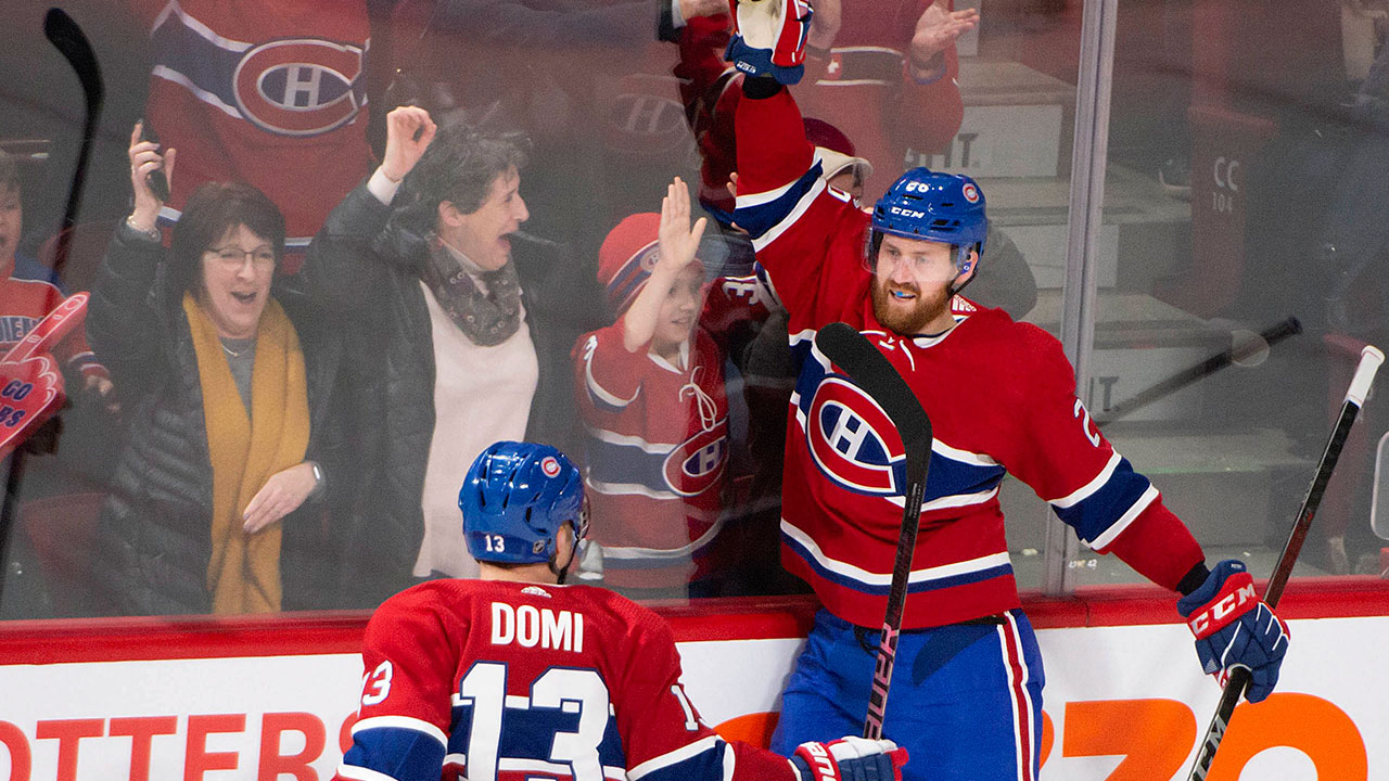 Canadiens flirt with disaster, but manage to win in the end