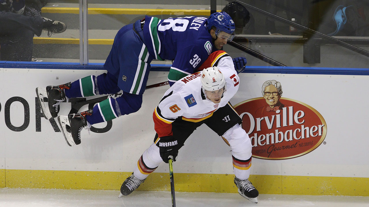 Canucks reassign winger Justin Bailey to AHL's Utica Comets - Sportsnet.ca