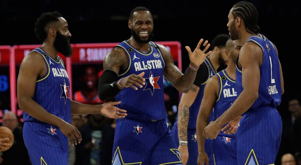 Team LeBron defeats Team Giannis in revamped NBA All-Star ...