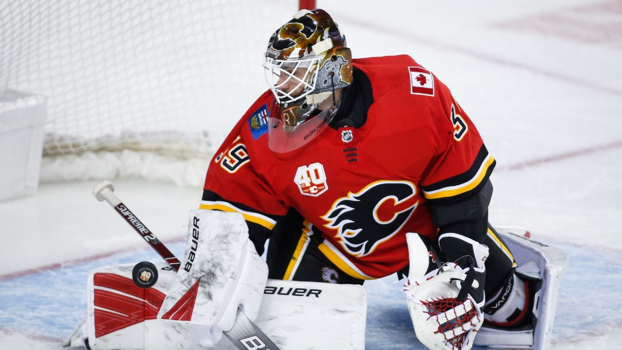 Cam Talbot to start Game 1 for Flames against Jets