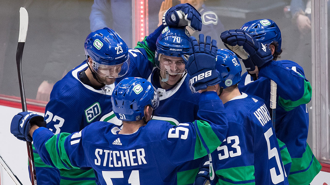 Demko and MacEwen both have big games as the Canucks end their slide against the Avalanche