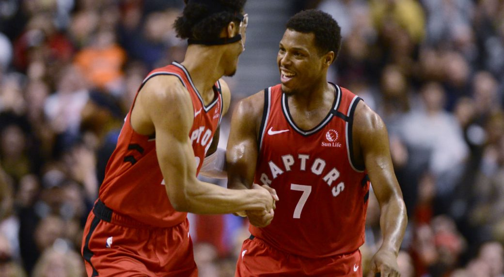 Raptors top Wolves, hit 15th win