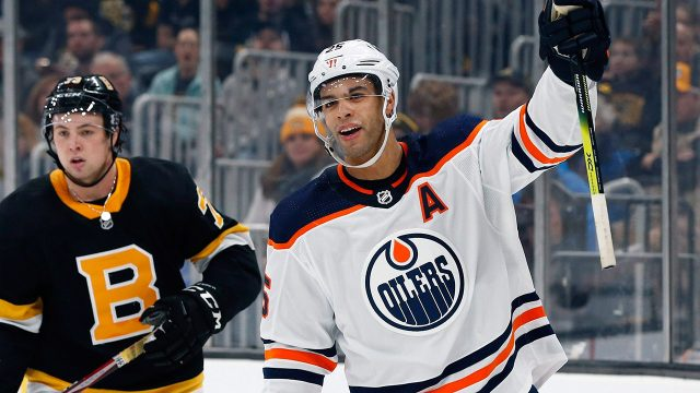 oilers-darnell-nurse-celebrates-goal-against-bruins