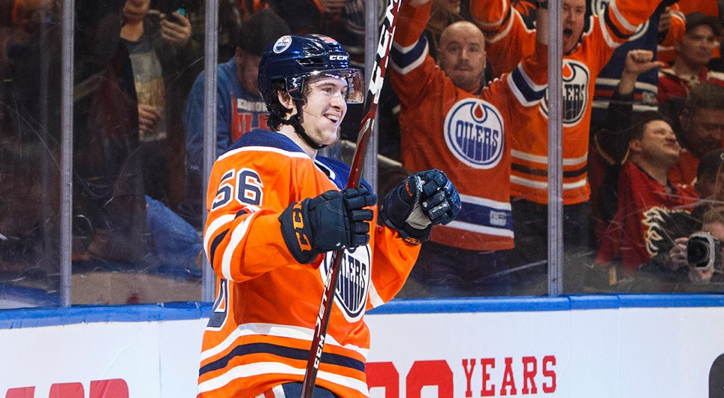 Oilers' Yamamoto fined for 'dangerous' trip on Flames' Andersson