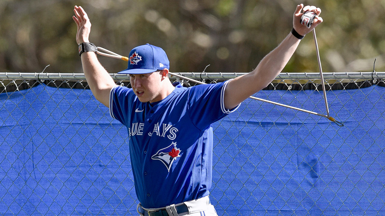 Blue Jays top prospect Nate Pearson opens eyes at camp with dominant stuff - Sportsnet.ca