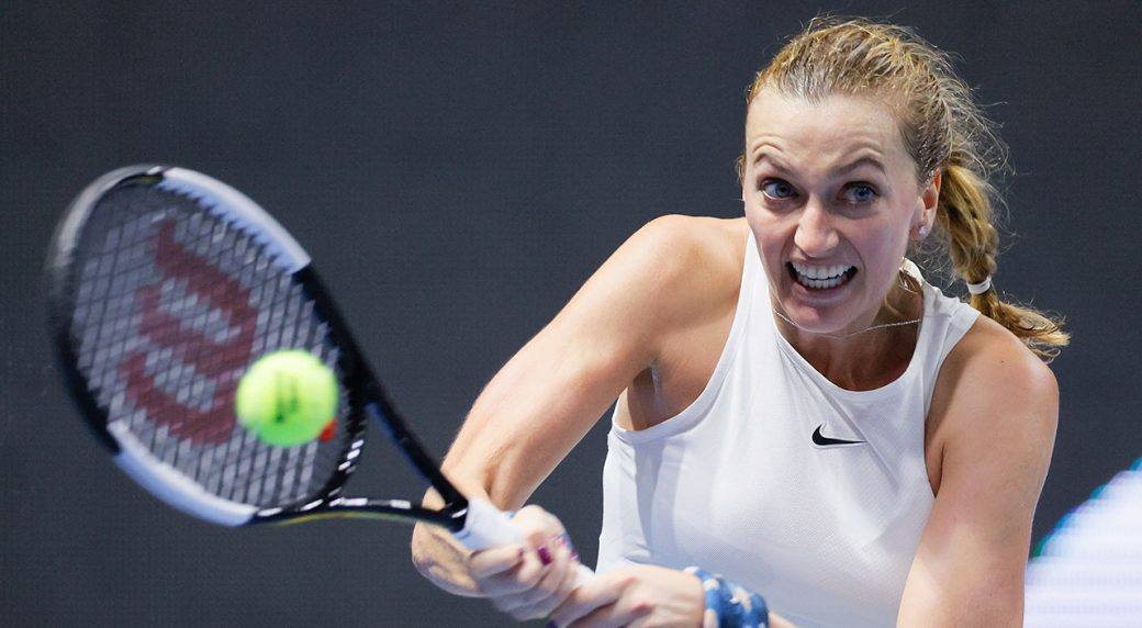 Petra Kvitova beats van Uytvanck in 3 sets in St. Petersburg