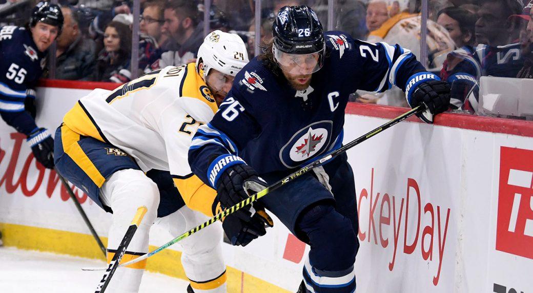 Granlund Stars In Overtime As Nashville Predators Edge Winnipeg Jets Sportsnet Ca