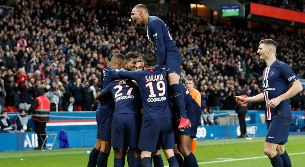 PSG strolls past Dijon into French Cup semis