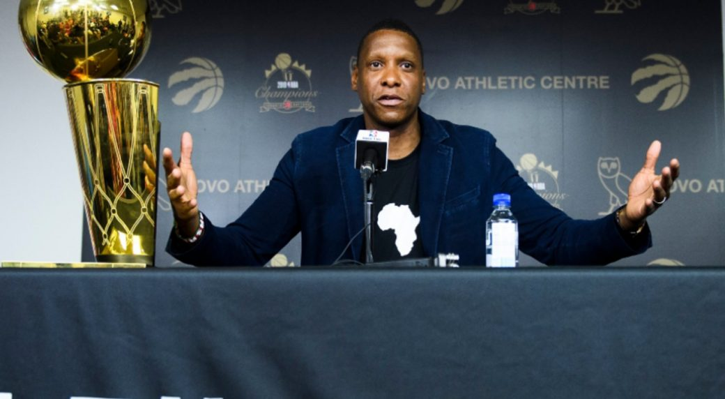 NBA commissioner Adam Silver offers apology to Raptors' Masai Ujiri