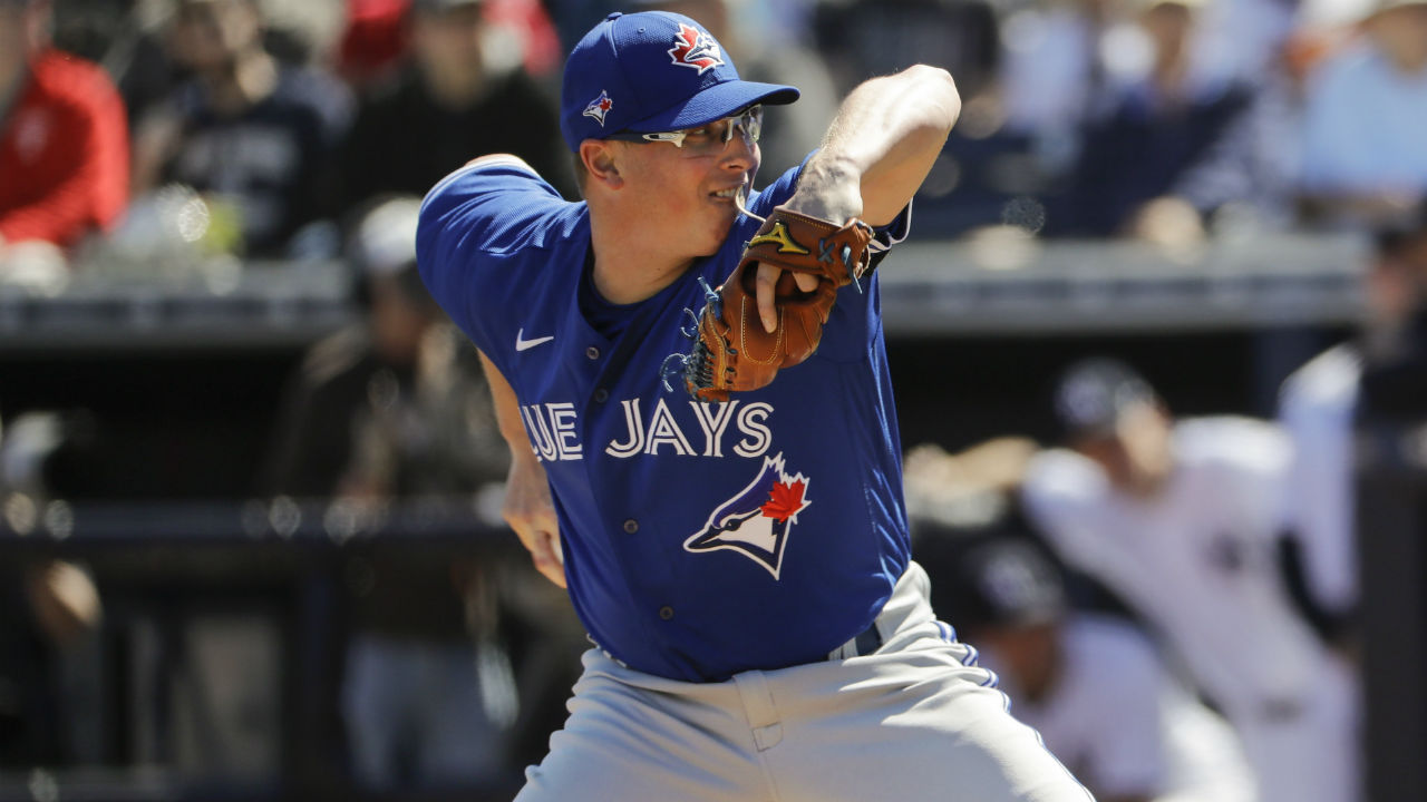 Blue Jays' Trent Thornton knows keeping calm is key ahead of 2020 debut