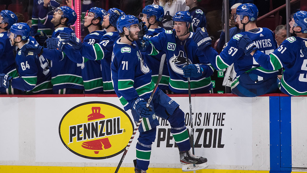 Canucks' MacEwen making good on Benning's belief in his potential - Sportsnet.ca