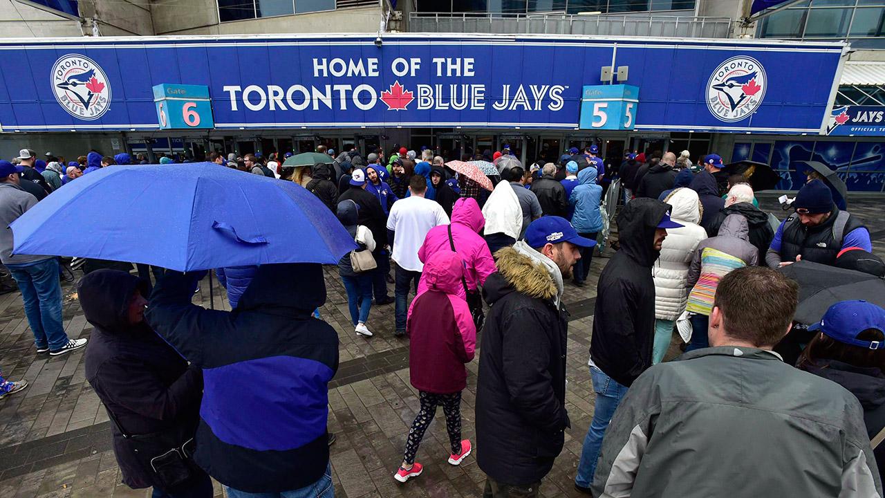blue-jays-fans-arrive-at-rogers-centre