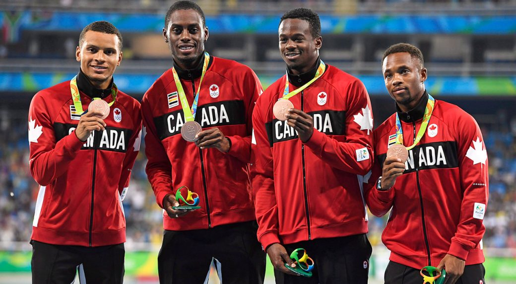 canada-shows-off-bronze-medals-after-4x100-relay-rio-2016