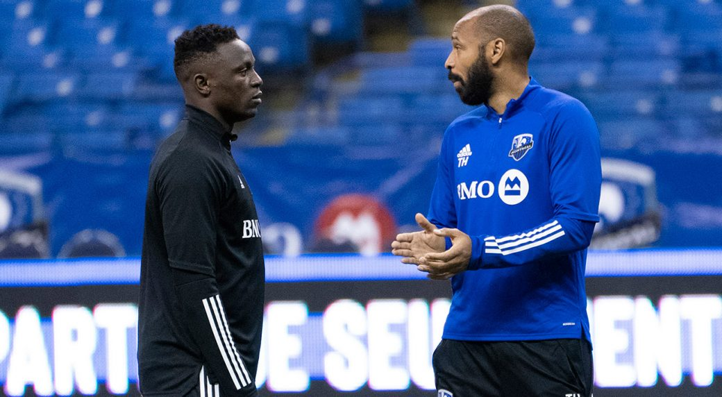 impact-coach-thierry-henry-victor-wanyama-at-practice